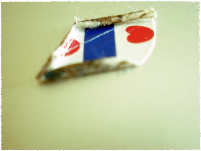 sticker Friese vlag